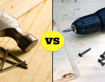 چه تفاوتی میان میخ و پیچ وجود دارد؟